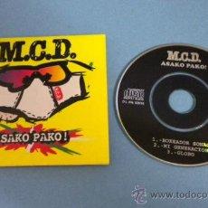 Discos de vinilo: M.C.D. (ASAKO PAKO!) MINI MAXI-CD (3 TEMAS). Lote 38624502