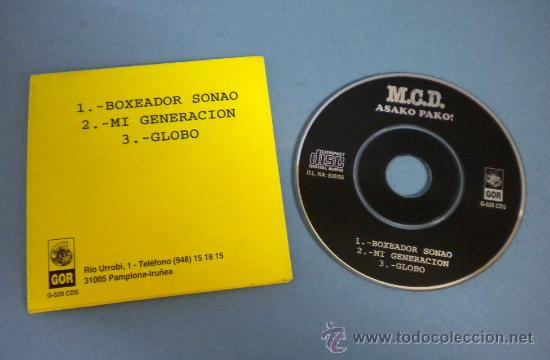 Discos de vinilo: M.C.D. (ASAKO PAKO!) MINI MAXI-CD (3 TEMAS) - Foto 2 - 38624502