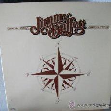 Discos de vinilo: LP DE JIMMY BUFFETT, CHANGES IN LATITUDES, CHANGES IN ATTITUDES, DOBLE CARPETA AÑO 1977. Lote 38631550