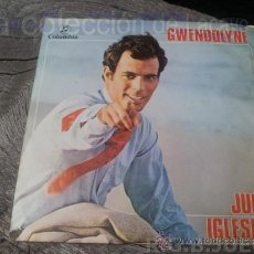Discos de vinilo: JULIO IGLESIAS - GWENDOLYNE . Lote 38635644