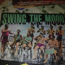 Discos de vinilo: SWING THE MOOD JIVE BUNNY & MASTERMIXERS C2V. Lote 38637289