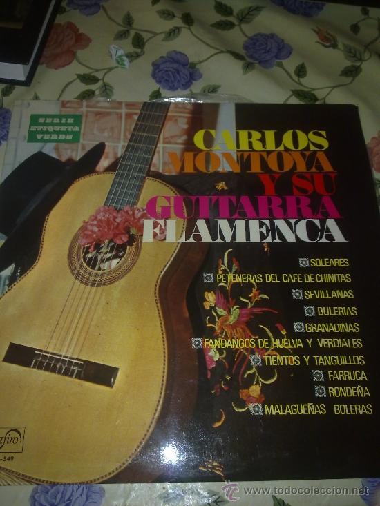 CARLOS MONTOYA Y SU GUITARRA FLAMENCA. C3V (Música - Discos - LP Vinilo - Otros estilos)