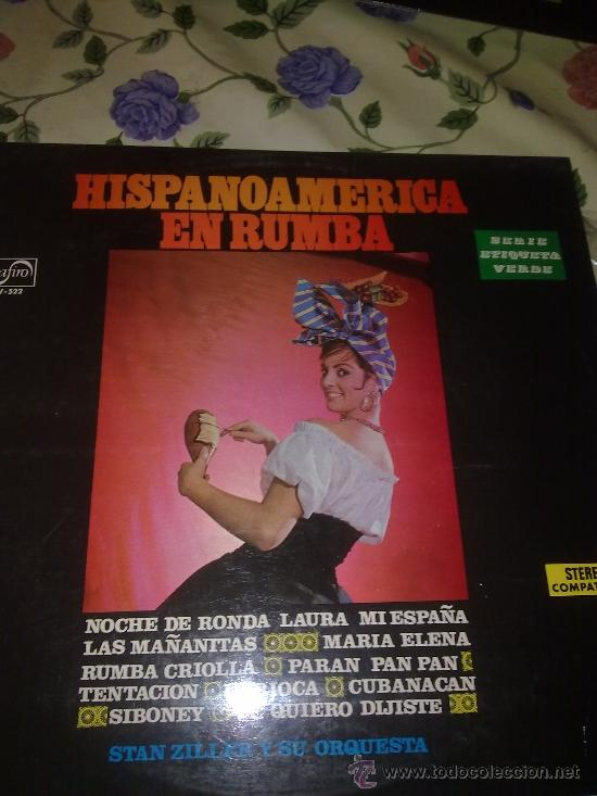 HISPANO AMERICA EN RUMBA STAN ZILLER Y SU ORQUESTA. C3V (Música - Discos - LP Vinilo - Otros estilos)