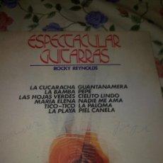 Discos de vinilo: ESPECTACULAR GUITARRAS ROCKY REYNOLDS LA CUCARACHA. LA BAMBA. HAS HOJAS VERDES. MARIA ELENA. C2V. Lote 38637681