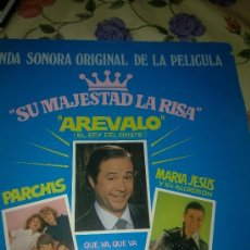 Discos de vinilo: SU MAJESTAD LA RISA. AREVALO ( EL REY DE LA RISA) PARCHIS CANTA Y BAILA. MARIA JESUS Y.. C1V. Lote 38637769