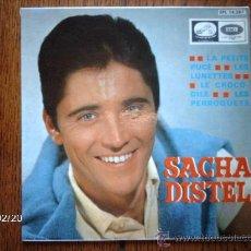 Discos de vinilo: SACHA DISTEL - LA PETITE PUCE + 3. Lote 38647128