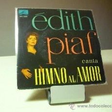 Discos de vinilo: EDITH PIAF HYMNE A L'AMOUR +3 EP. Lote 38639643