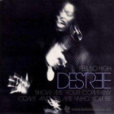 Discos de vinilo: DES'REE ··· FEEL SO HIGH - (SINGLE 45R) ¡NUEVO!. Lote 38646365