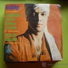 Discos de vinilo: KULDIP-LA BALADA DE LOS BOINAS VERDES + OJOS DE ESPAÑA SINGLE 1966 SPAIN. Lote 38683034