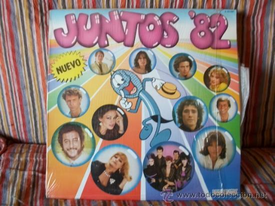 LP JUNTOS 82 (Música - Discos - LP Vinilo - Grupos Españoles de los 70 y 80)