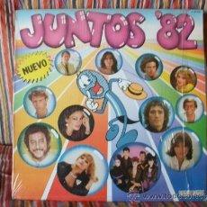 Discos de vinilo: LP JUNTOS 82. Lote 38652875
