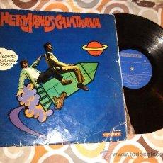 Discos de vinilo: HERMANOS CALATRAVA LP 1969. Lote 38656951