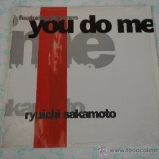 Discos de vinilo: RYUICHI SAKAMOTO FEATURING JILL JONES ( YOU DO ME 4 VERSIONES - AMORE LP VERSION ) USA-1989 LP33 . Lote 38659069