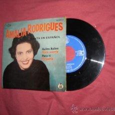 Discos de vinilo: AMALIA RODRIGUES CANTA EN ESPAÑOL EP HISPAVOX SPA 1961 VER FOTO ADICIONAL. Lote 38662177