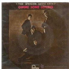 Discos de vinilo: EP THE SPENCER DAVIS GROUP : GIMME SOME LOVING ( STEVE WINWOOD ) + 3 . Lote 38672791