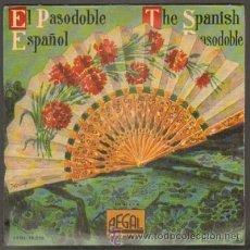 Discos de vinilo: EL PASODOBLE ESPAÑOL.BANDA MUNICIPAL DE MADRID.ESPAÑA CAÑÍ,LA CALESERA,LA DOLORES...RF-6750. Lote 38676343