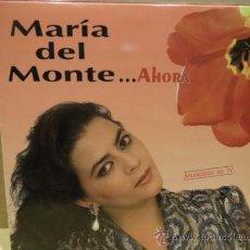 Discos de vinilo: MARÍA DEL MONTE. AHORA. LP HORUS 1991. BUENA CALIDAD. ***/***. Lote 38693228