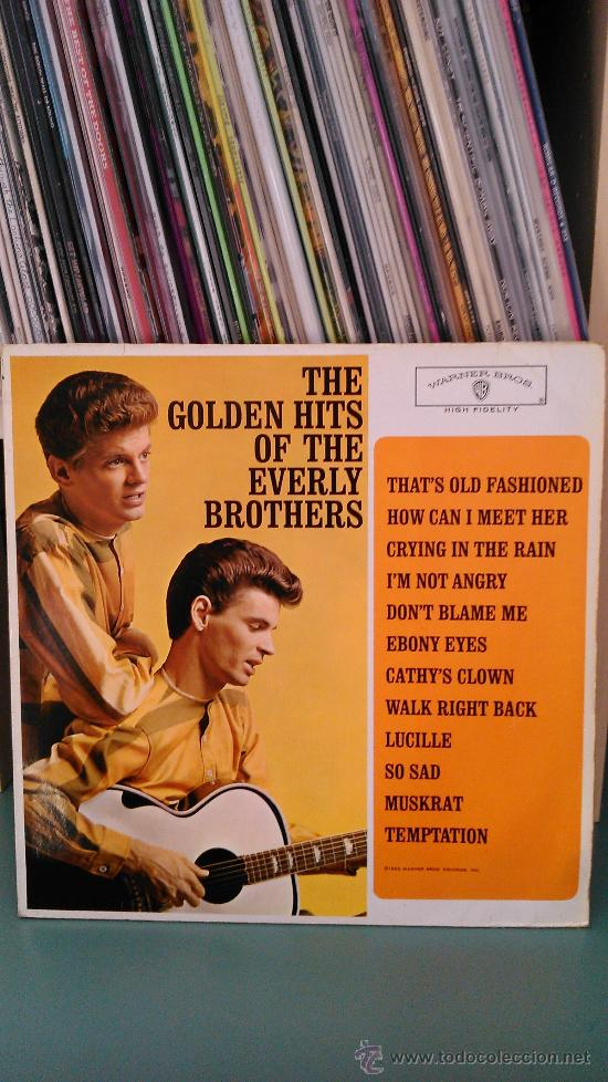 EVERLY BROTHERS - THE GOLDEN HITS OF THE EVERLY BROTHERS (Música - Discos - LP Vinilo - Rock & Roll)