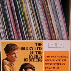 Discos de vinilo: EVERLY BROTHERS - THE GOLDEN HITS OF THE EVERLY BROTHERS. Lote 38683759