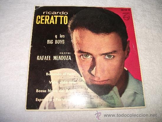 RICARDO GERATTO Y LOS BIG BOYS / BAILANDO EL TWIST / PHILIPS 1963 (Música - Discos de Vinilo - EPs - Grupos Españoles 50 y 60)