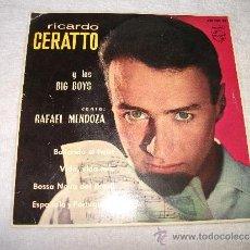 Discos de vinilo: RICARDO GERATTO Y LOS BIG BOYS / BAILANDO EL TWIST / PHILIPS 1963. Lote 38688724