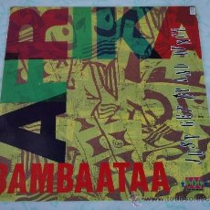 Discos de vinilo: AFRIKA BAMBAATAA ( JUST GET UP AND DANCE 4 VERSIONES ) 1991-ITALY MAXI33 . Lote 38688728