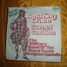 Discos de vinilo: AMAZING GRACE. CORNET CARILLON. PIPES AND DRUMS. THE HIT VERSION. RCA 1972. . Lote 38690586