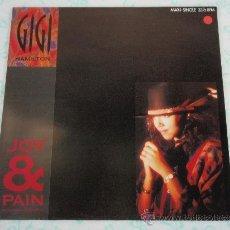 Discos de vinilo: GIGI HAMILTON ( JOY & PAIN(IN THIS WILD, WILD WORLD) 8 VERSIONES ) 1990-HOLANDA MAXI33 CBS. Lote 38690870