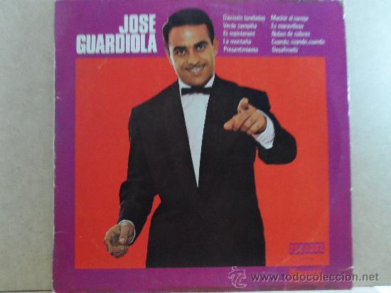 *** JOSE GUARDIOLA - ÉXITOS - LP AÑO 1972 - EDICIÓN ESPECIAL CIRCULO DE LECTORES - LEER DESCRIPCIÓN (Música - Discos - LP Vinilo - Solistas Españoles de los 50 y 60)
