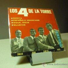 Discos de vinilo: LOS 4 DE LA TORRE MAMITA +3 EP . Lote 38698525