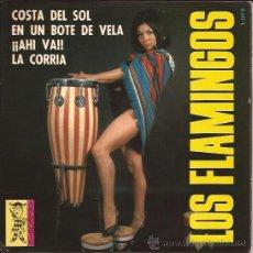 Disques de vinyle: EP-LOS FLAMINGOS COSTA DEL SOL-ARLEQUIN 1073-1965-SEXY COVER-. Lote 49075325