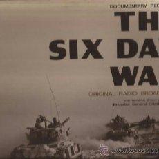 Discos de vinilo: LP-THE SIX DAY WAR GUERRA DE LOS SEIS DIAS-NARRADO GENERAL HERZOG EN INGLES-CBS 63178-1967-GATEFOLD. Lote 38699429
