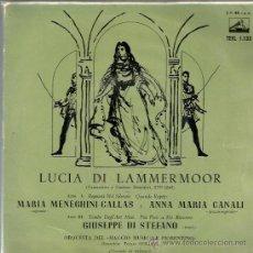 Discos de vinilo: EP DONIZETTI & MARIA CALLAS & ANA MARIA CANALI & DI STEFANO . Lote 38704063