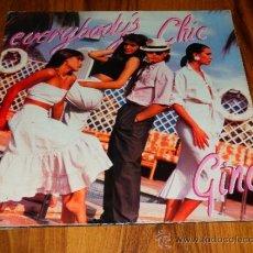 Discos de vinilo: EVERYBODY'S CHIC LP VINILO DON DISCO 1986 SPAIN LP VINILO DESPLEGABLE DISCO DANCE COMPROBADO V4. Lote 38707976