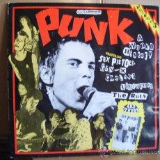 Discos de vinilo: PUNK - A WORLD HISTORY --- VIBRATORS,SEX PISTOLS,RUTS,CHELSEA,G.B.H. ...... Lote 38707341