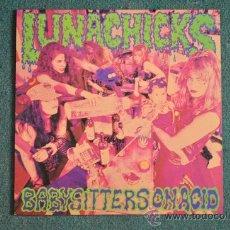 Discos de vinilo: LUNACHICKS - BABYSITTERS ON ACID. Lote 38708169