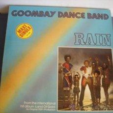 Discos de vinilo: GOOMBAY DANCE BAND RAIN MAXI SINGLE. Lote 38708840