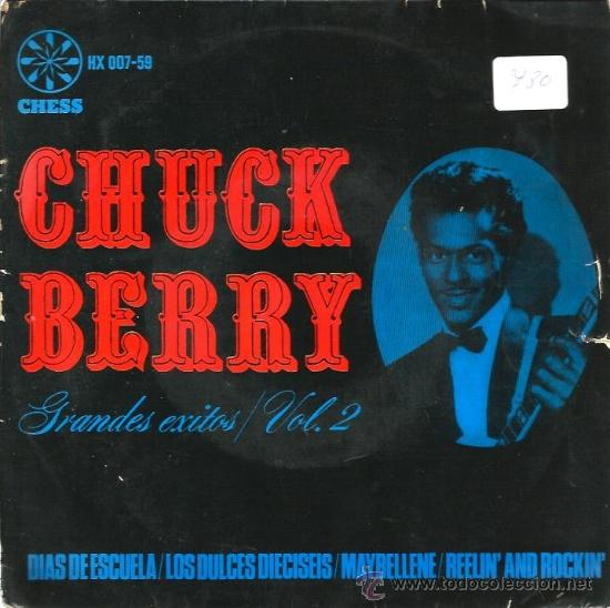 EP CHUCK BERRY SCHOOL DAYS + 3 (Música - Discos de Vinilo - EPs - Rock & Roll)