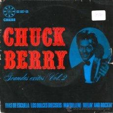 Discos de vinilo: EP CHUCK BERRY SCHOOL DAYS + 3 . Lote 38709466