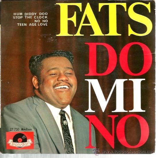 EP FATS DOMINO : HUM DIDDY DOO + 3 (Música - Discos de Vinilo - EPs - Rock & Roll)