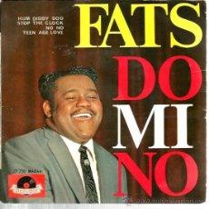 Discos de vinilo: EP FATS DOMINO : HUM DIDDY DOO + 3 . Lote 38711253