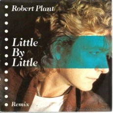 Discos de vinilo: SINGLE PROMO ROBERT PLANT ( LED ZEPPELIN ) : LITTLE BAY LITTLE ( REMIX ) + DOO DOO A DO DO . Lote 38711615