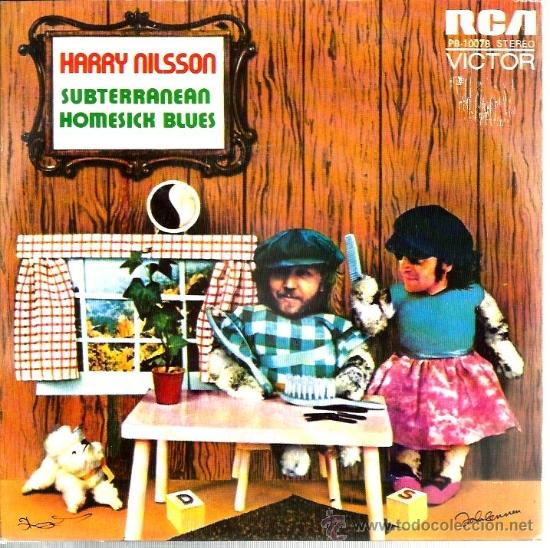 SINGLE HARRY NILSSON , CON PRODUCCION DE JOHN LENNON : SUBTERRANEAN HOMESICK BLUES ( DYLAN ) (Música - Discos - Singles Vinilo - Pop - Rock - Extranjero de los 70)