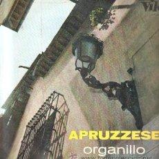 Discos de vinilo: APRUZZESE. ORGANILLO D-CLASICA-1491. Lote 38713042