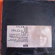 Discos de vinilo: LP - MANTOVANI - MUSICA DE PELICULAS (SPAIN, DECCA RECORDS 1961). Lote 38714144