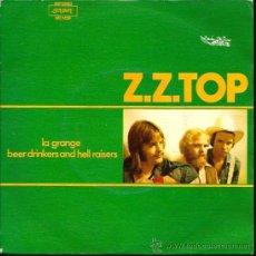 Discos de vinilo: SINGLE Z. Z, TOP : LA GRANGE . Lote 38716258