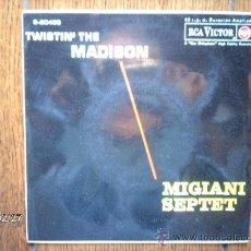 Discos de vinilo: MIGIANI SEPTET - MADISON SQUARE GARDEN +3. Lote 38716718