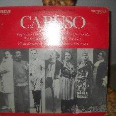 Discos de vinilo: CARUSO-INMORTAL PERFORMANCES,1904-1906. Lote 38716996