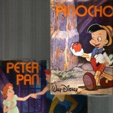 Discos de vinilo: 5 EP´S CUENTODISCO BRUGUERA: PINOCHO, PETER PAN, EL SASTRECILLO, HANSEL Y GRETEL, LA DAMA Y VAGABUND. Lote 38720810