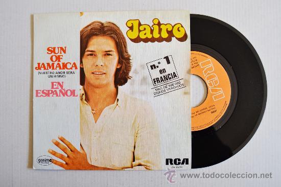 JAIRO-SUN OF JAMAICA-COMO DECIRTE QUE TE QUIERO-¡¡NUEVO!!-SINGLE-1980-RCA-SPÑ (Música - Discos - Singles Vinilo - Grupos y Solistas de latinoamérica)